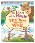 Image for The Lion and the Mouse  : and, The boy who cried wolf