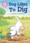 Image for Dog likes to dig