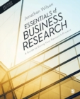 Image for Essentials of business research  : a guide to doing your research project