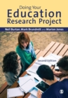 Image for Doing your education research project