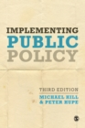 Image for Implementing public policy  : an introduction to the study of operational governance
