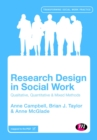 Image for Research design in social work  : qualitative and quantitative methods