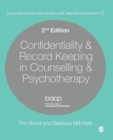 Image for Confidentiality & record keeping in counselling and psychotherapy