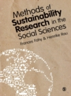 Image for Methods of sustainability research in the social sciences