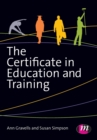 Image for The Certificate in Education and Training