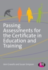 Image for Passing assessments for the Certificate in Education and Training