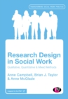Image for Research design in social work: qualitative, quantitative and mixed methods