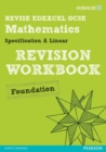 Image for Edexcel GCSE mathematics A linearFoundation,: Revision workbook