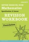 Image for Revise Edexcel GCSE Mathematics Spec A Linear Revision Workbook Foundation - Print and Digital Pack