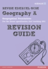 Image for Geography A  : geographical foundations: Revision guide