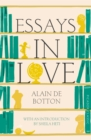 Image for Essays in love