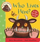 Image for Who lives here?  : a lift-the-flap book