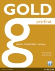 Image for Gold Pre-First Maximiser with Key