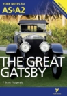 Image for The great Gatsby, F. Scott Fitzgerald  : notes