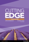Image for Cutting edgeUpper intermediate,: Students' book with DVD-ROM