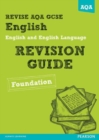 Image for English and English language  : revision guide: Foundation