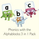 Image for Phonics with the Alphablocks Multi-pack: Starting Phonics, Simple Phonics and Super Phonics for children age 3-5 (Contains 9 reading books, Alphablocks tiles, Alphablocks cards and parent guides)