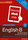 Image for Pearson Baccalaureate English B ebook only edition for the IB Diploma (etext)