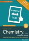 Image for Pearson Baccalaureate Chemistry Higher Level 2nd edition ebook only edition (etext) for the IB Diploma