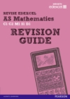 Image for REVISE EDEXCEL: AS Mathematics Revision Guide
