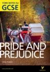 Image for Pride and prejudice, Jane Austen: notes