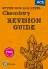 Image for Revise OCR AS/A level chemistry  : for the 2015 qualifications: Revision guide