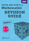 Image for Revise AQA GCSE mathematics higher revision guide  : for the 2015 qualifications