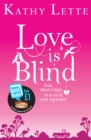 Image for Love is blind: but marriage is a real eye opener