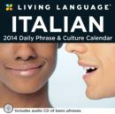 Image for Living Language : Italian 2014 Box Calendar
