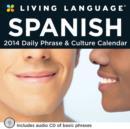 Image for Living Language : Spanish 2014 Box Calendar