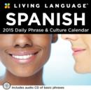 Image for Living Language : Spanish 2015 Day-to-Day Box