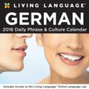 Image for Living Language: German 2016 Day-to-Day Calendar