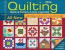 Image for Quilting Block & Pattern-a-Day 2016 Calendar