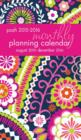Image for Posh: Bright Blooms 2015-2016 Monthly Pocket Planning Calendar