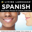 Image for Living Language: Spanish 2017 Day-to-Day Calendar