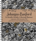Image for Johanna Basford 2018-2019 16-Month Coloring Weekly Planner Calendar