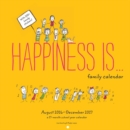 Image for 2017-2018 Family Wall Calendar: Happiness Is . .