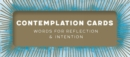 Image for Contemplation Cards : Words for Reflection & Intention