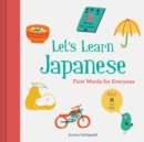 Image for Let's learn Japanese  : first words for everyone