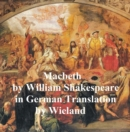 Image for Macbeth, in German translation (Wieland)