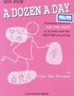 Image for A Dozen A Day (Mini Book/Online Audio)