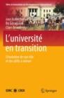 Image for L'universite en transition: L'evolution de son role et des defis a relever