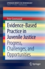 Image for Evidence-Based Practice in Juvenile Justice : Progress, Challenges, and Opportunities