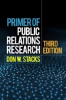 Image for Primer of public relations research