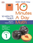 Image for 10 Minutes a Day: Math, First Grade : Supports National Council of Teachers Math Standards