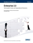 Image for Handbook of research on enterprise 2.0  : technological, social, and organizational dimensions