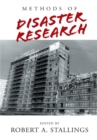 Image for Methods of Disaster Research