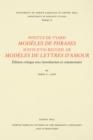 Image for Pontus de Tyard, Modeles de phrases suivis d'un recueil de modeles de lettres d'amour: Edition critique avec introduction et commentaire
