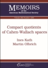 Image for Compact Quotients of Cahen-Wallach Spaces