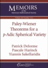 Image for Paley-Wiener Theorems for a $p$-Adic Spherical Variety